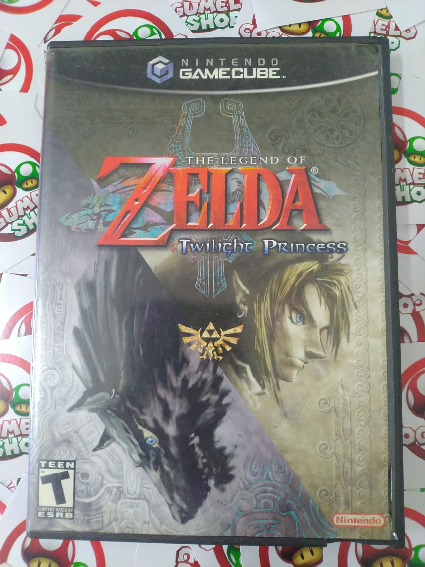 The Legend of Zelda Twilight Princess - USADO - Nintendo GameCube