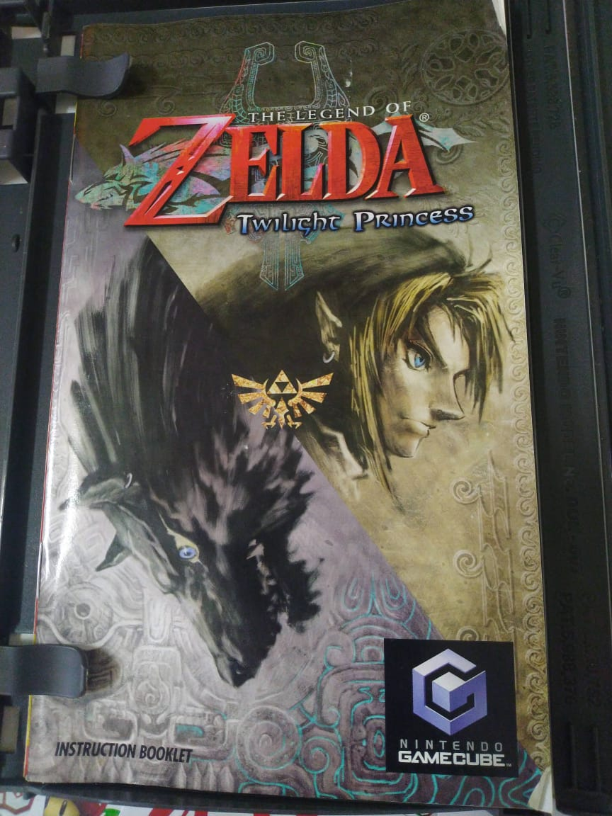 The Legend of Zelda Twilight Princess - USADO - Nintendo GameCube