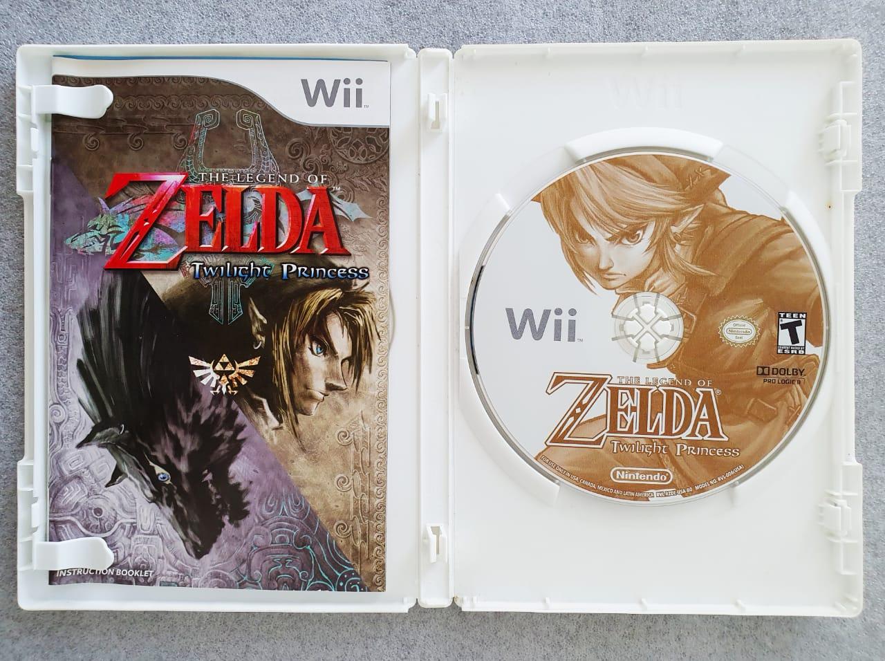 The Legend Of Zelda: Twilight Princess - USADO - Nintendo Wii