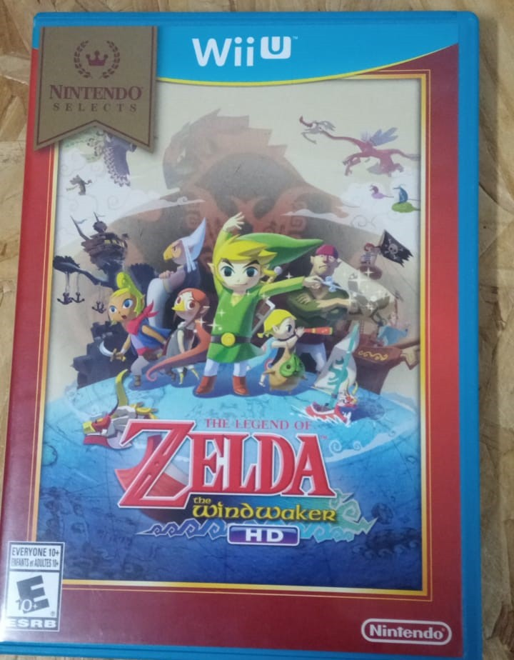 The Legend Of Zelda: Wind Waker - USADO - Nintendo Wii U