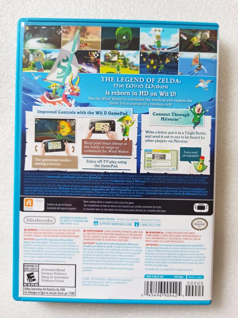 The Legend Of Zelda: Wind Waker - USADO - Nintendo Wii U