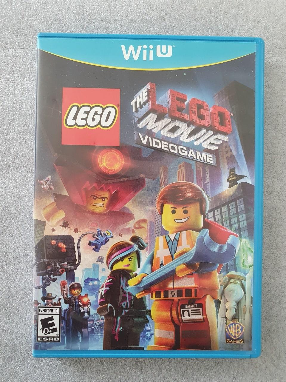 The LEGO Movie Videogame  - Nintendo Wii U - Usado