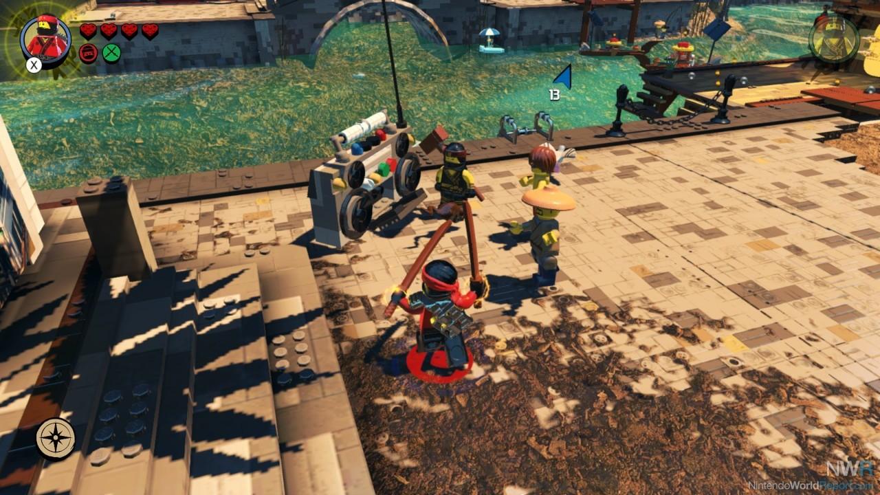 The Lego Ninjago Movie Videogame - USADO - Nintendo Switch