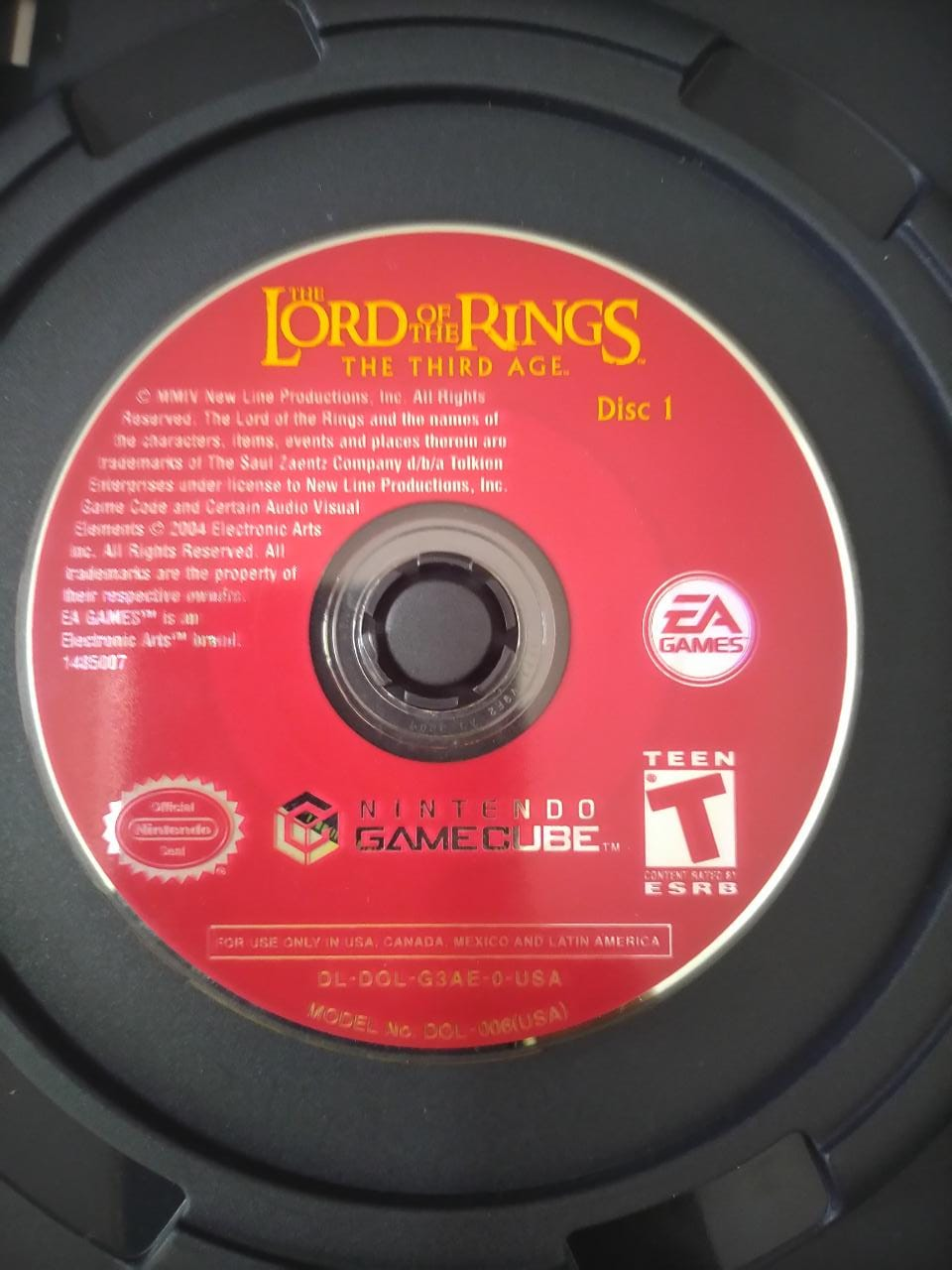 The Lord of The Rings: The Third Age - USADO - Nintendo GameCube