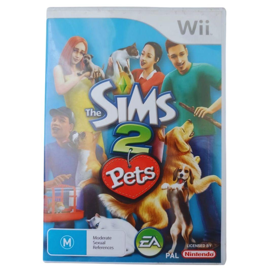 The Sims 2: Pets - Nintendo Wii - Usado