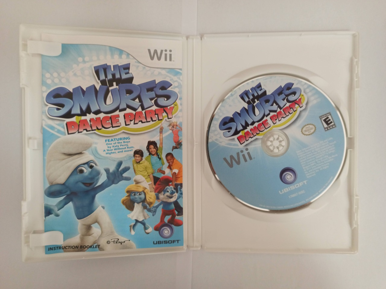 The Smurfs: Dance Party - Nintendo Wii - Usado
