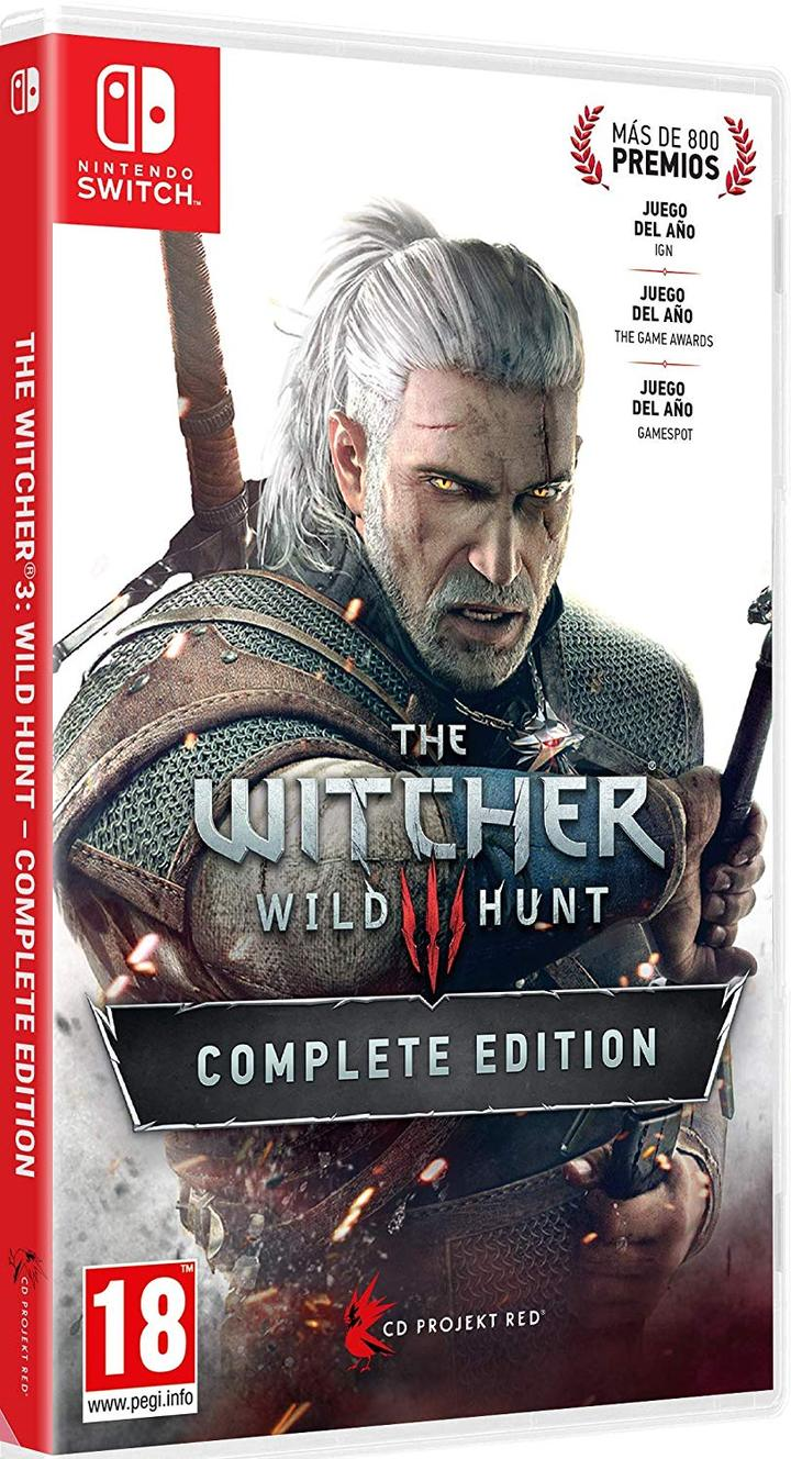 The Witcher 3 - Wild Hunt Complete Edition - Nintendo Switch - ENVIO INTERNACIONAL - VERSÃO ENG