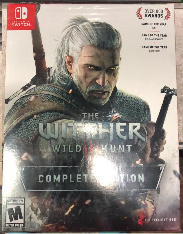 The Witcher Wild Hunt III Complete Edition - Nintendo Switch