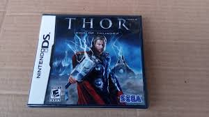 Thor God of Thunder (USADO)  - Nintendo DS