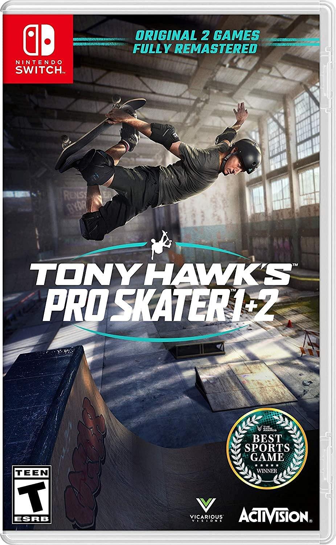 Tony Hawk's Pro Skater 1+2 - Nintendo Switch - Pré Venda
