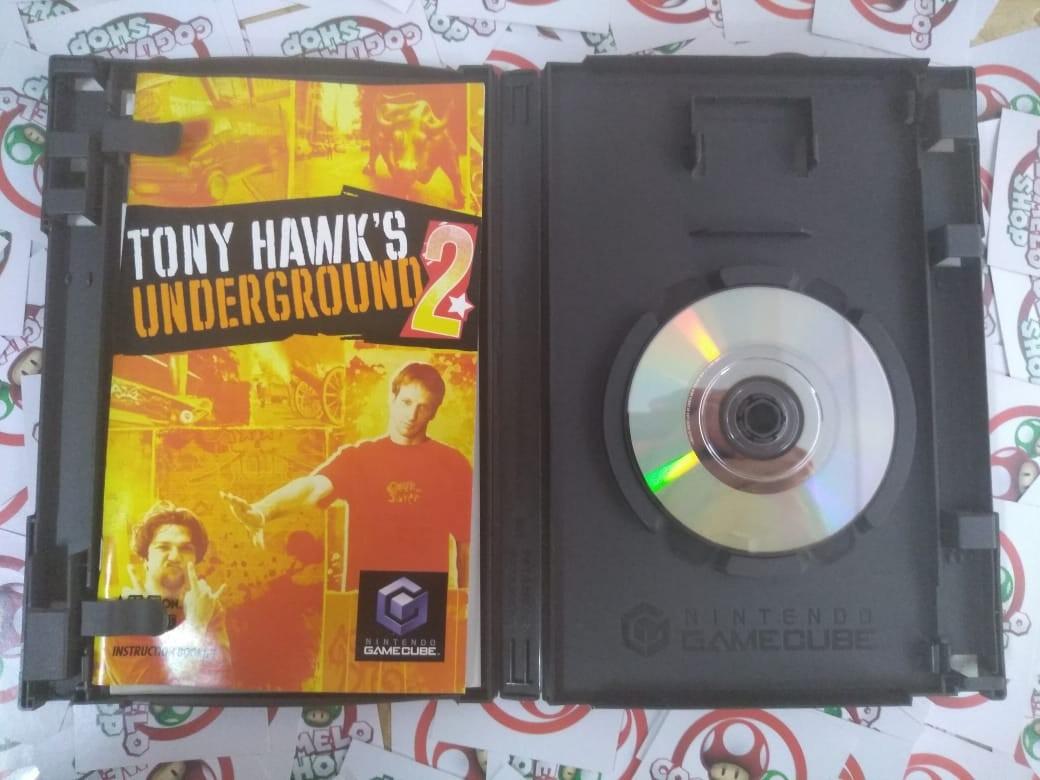 Tony Hawk's Underground 2 + Shark Tale - USADO - Gamecube