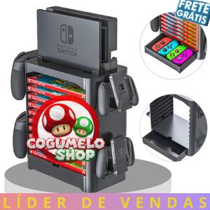 Torre Organizadora Nintendo Switch - Envio Internacional
