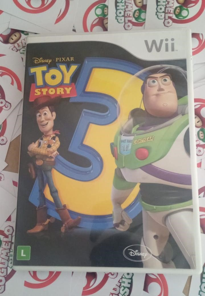 Toy Story 3 - USADO - Nintendo Wii