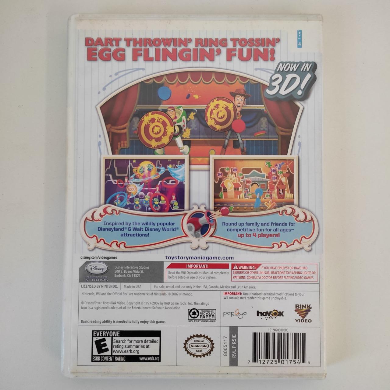 Toy Story MANIA! - Nintendo Wii - Usado
