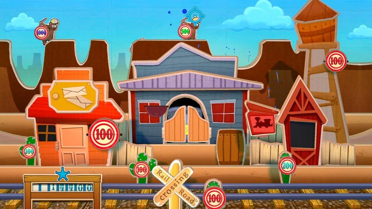 Toy Story Mania  - USADO - Nintendo Wii
