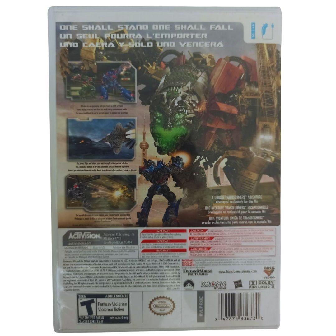 Transformers: Revenge of The Fallen - Nintendo Wii - Usado