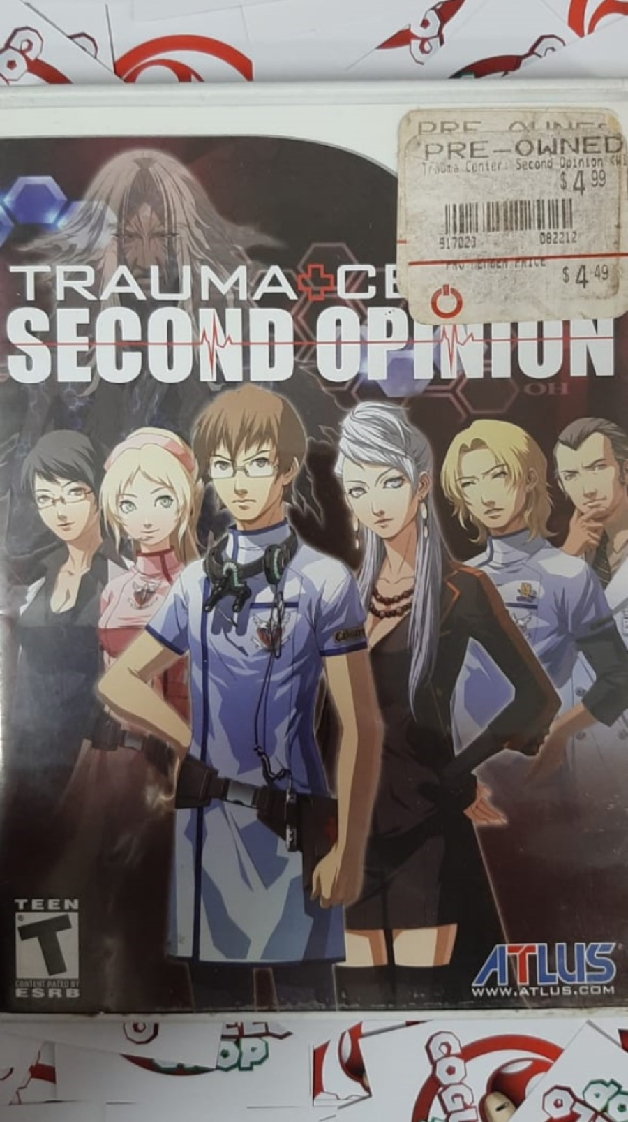 Trauma Center: Second Opinion - USADO - Nintendo Wii