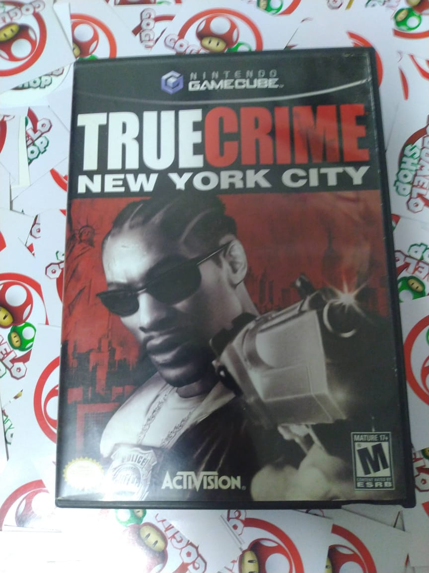 True Crime: New York City  - USADO - Nintendo GameCube