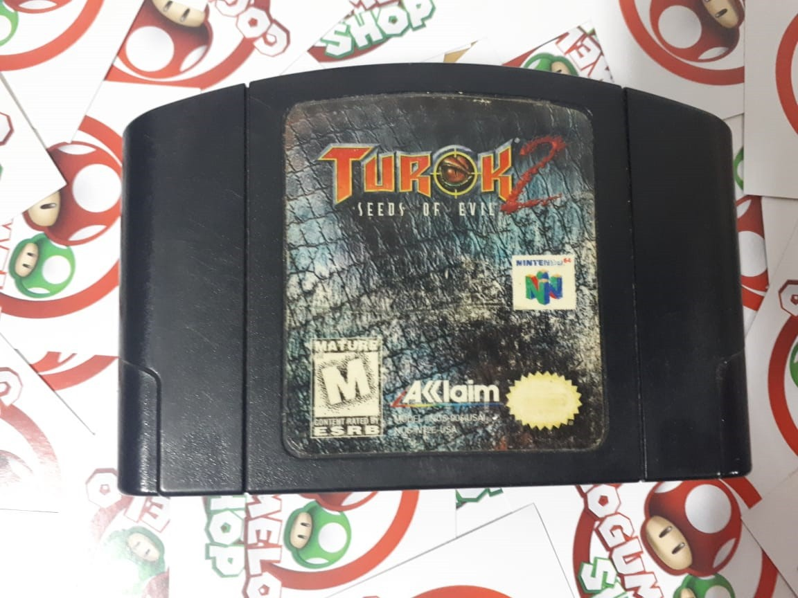 Turok 2: Seeds of Evil - USADO - Nintendo 64