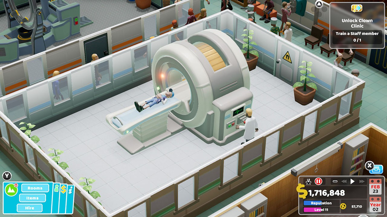 Two Point Hospital (US) - Nintendo Switch