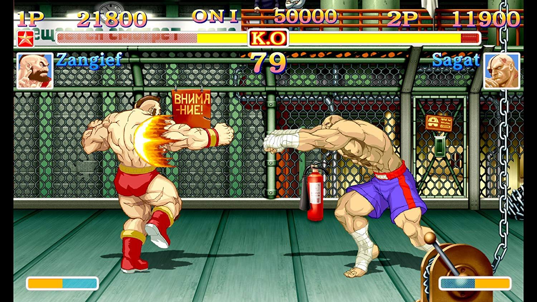 Ultra Street Fighter II - The Final Challengers - Nintendo Switch
