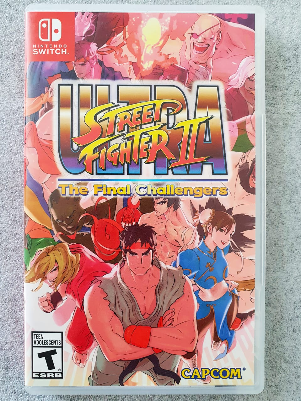 Ultra Street Fighter II - The Final Challengers - USADO - Nintendo Switch