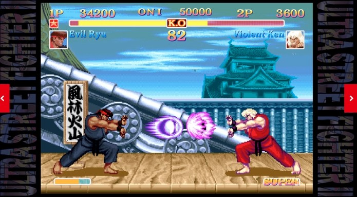 Ultra Street Fighter II - The Final Challengers - USADO - Nintendo Switch