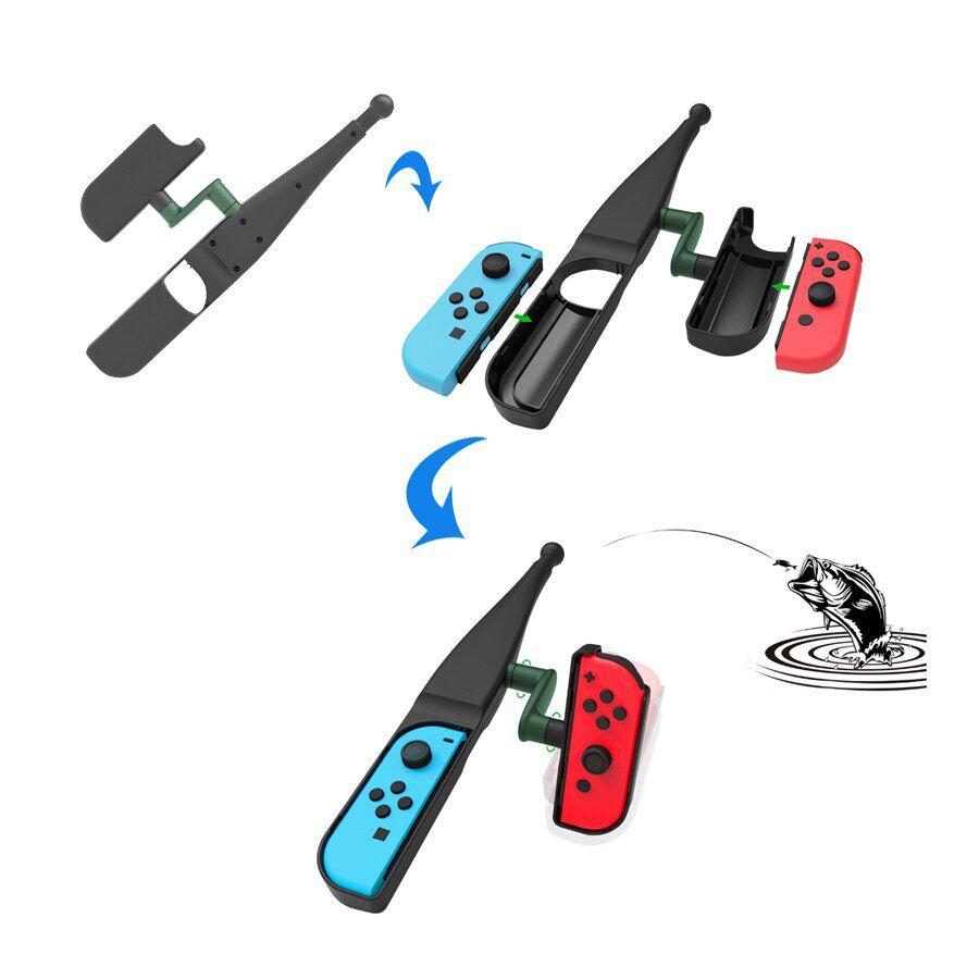 Vara de Pesca para Joy-Con - Nintendo Switch - Envio Internacional - Frete Grátis