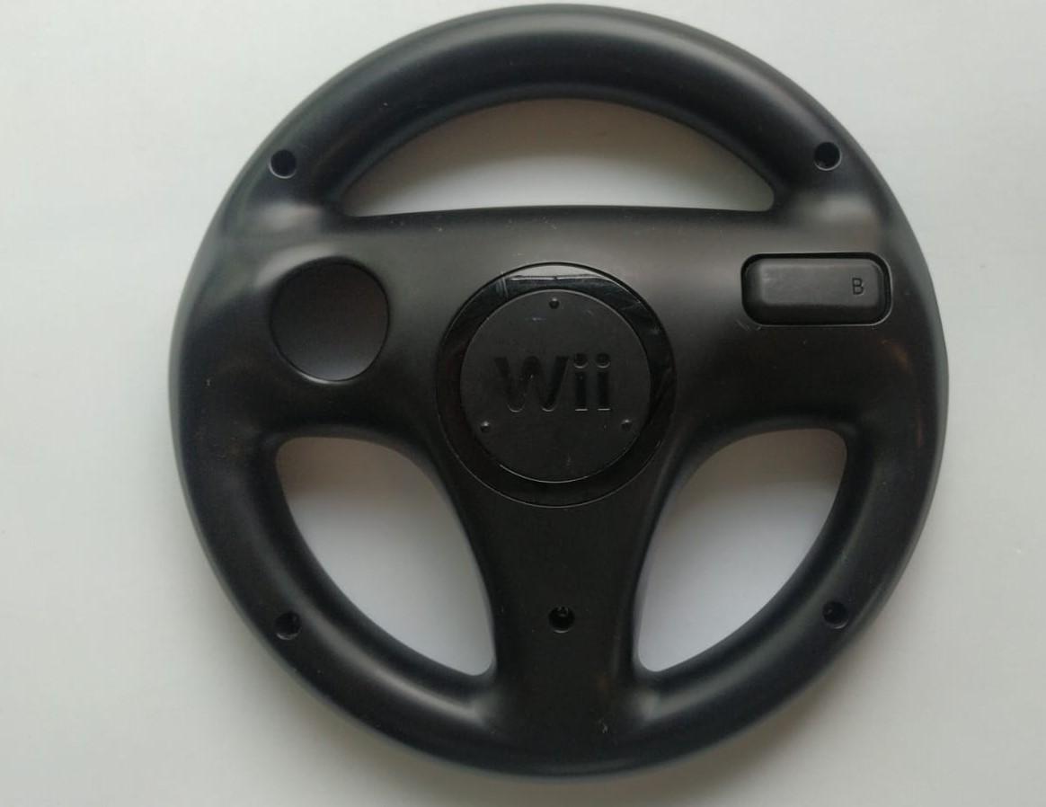 Volante (Preto) para Wii Remote - Nintendo Wii - Usado