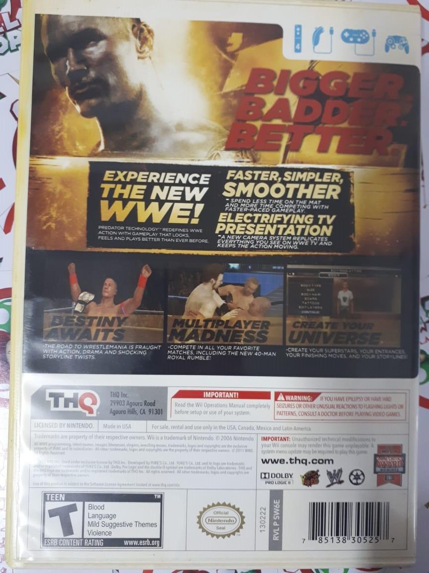 WWE 12 - USADO - Nintendo Wii