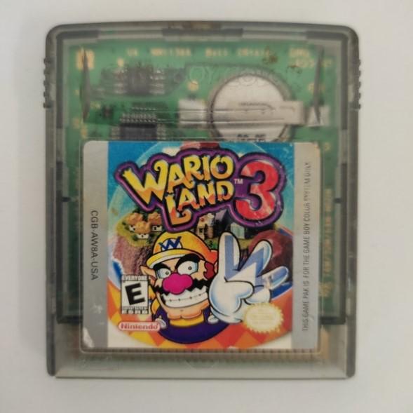 Wario Land 3 - Cartucho - Game Boy Color - Usado