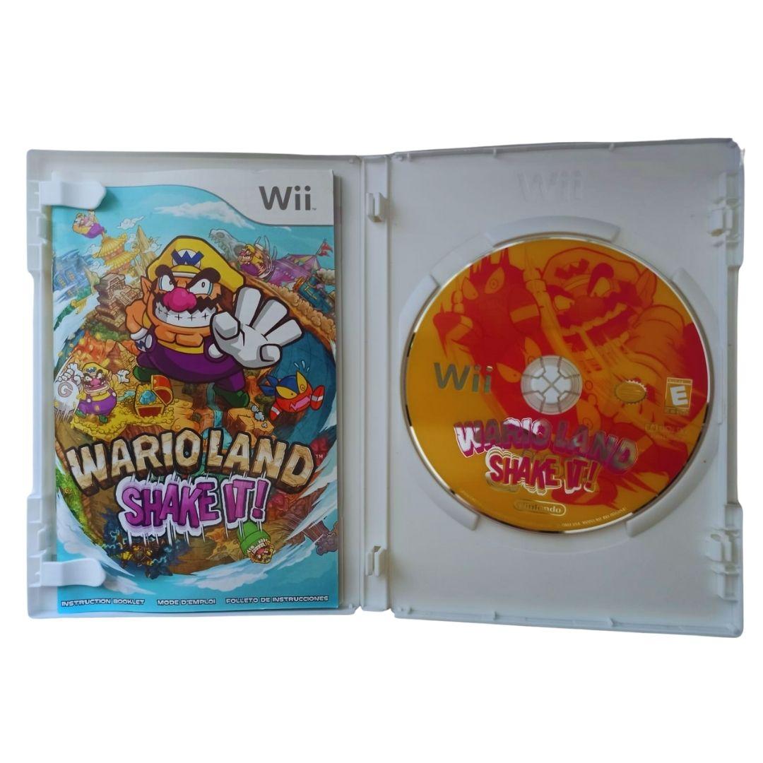 Wario Land: Shake It - Nintendo Wii - Usado