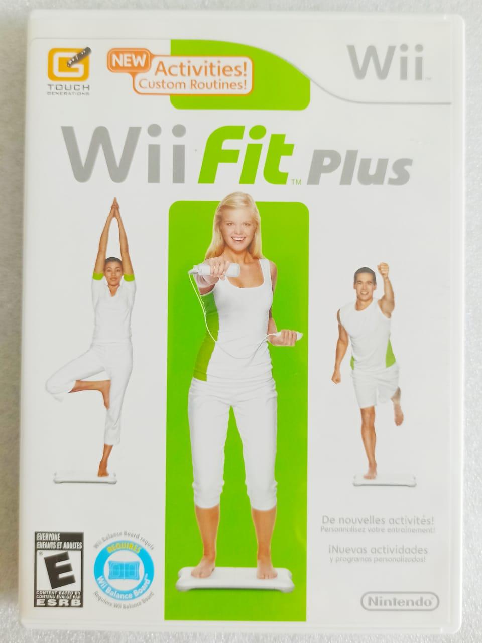 Wii Fit Plus - USADO - Nintendo Wii