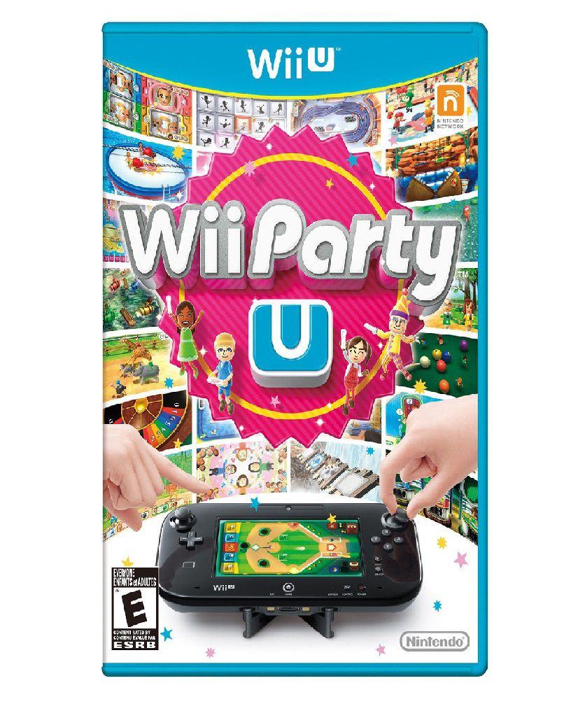 Wii Party U - USADO - Nintendo Wii U