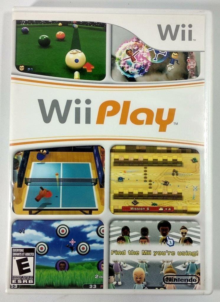 Wii Play Nintendo - USADO - Nintendo Wii