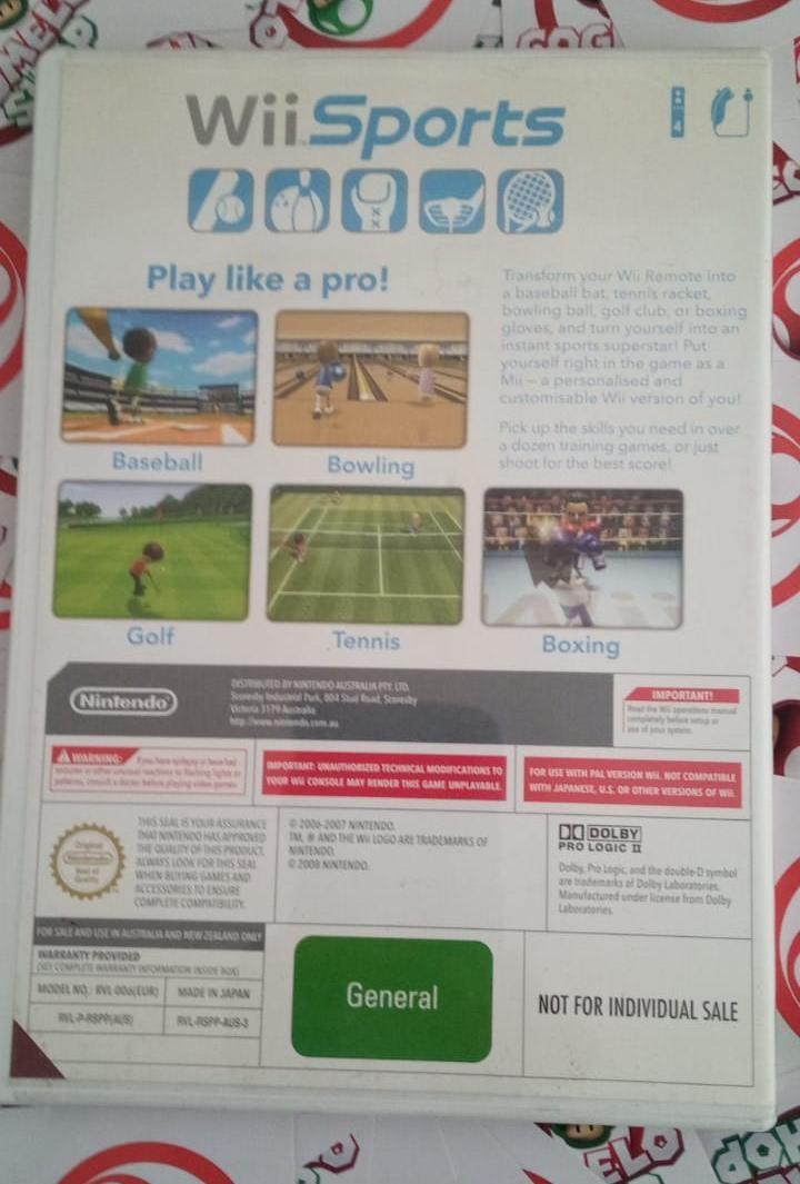 Wii Sports (capa dura) - Usado - Nintendo Wii