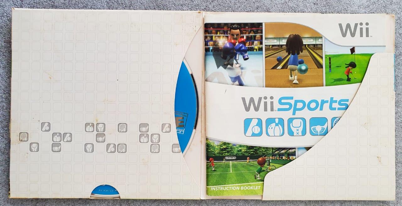 Wii Sports - Usado - Nintendo Wii