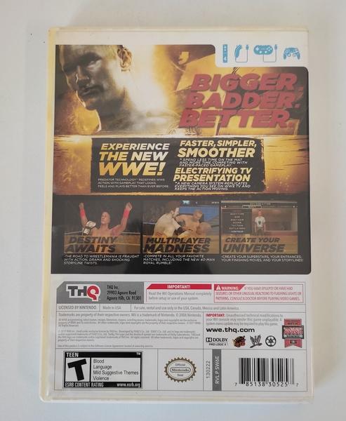 WWE12 - Nintendo Wii - Usado