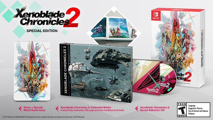 Xenoblade Chronicles 2: Special Edition - USADO - Nintendo Switch