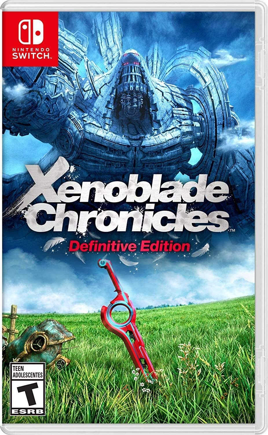 Xenoblade Chronicles Edição Definitiva - Nintendo Switch