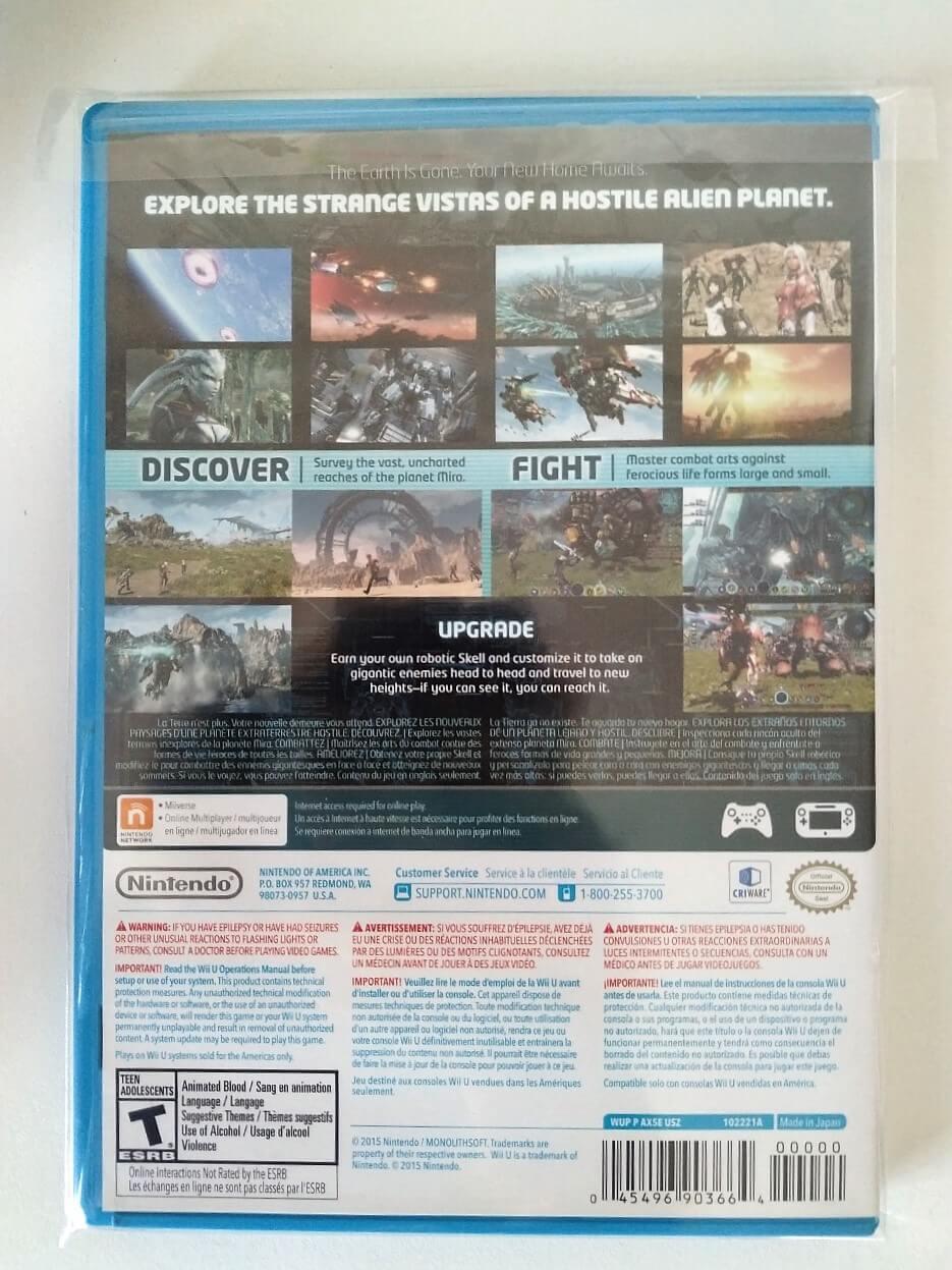 Xenoblade Chronicles X  Nintendo Wii U - Usado