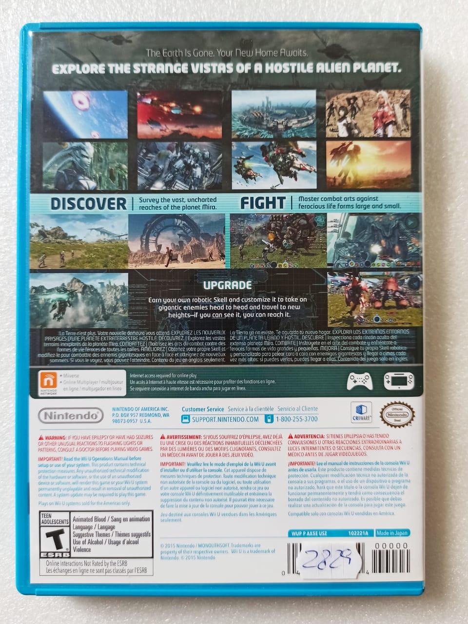 Xenoblade Chronicles X - USADO - Nintendo Wii U