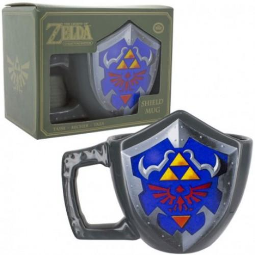 Caneca  Legend of Zelda Mug Link Shield - Edição de Colecionador