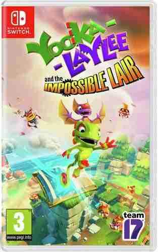Yooka-Laylee and The Impossible Lair (EUR) - Nintendo Switch - Envio Internacional