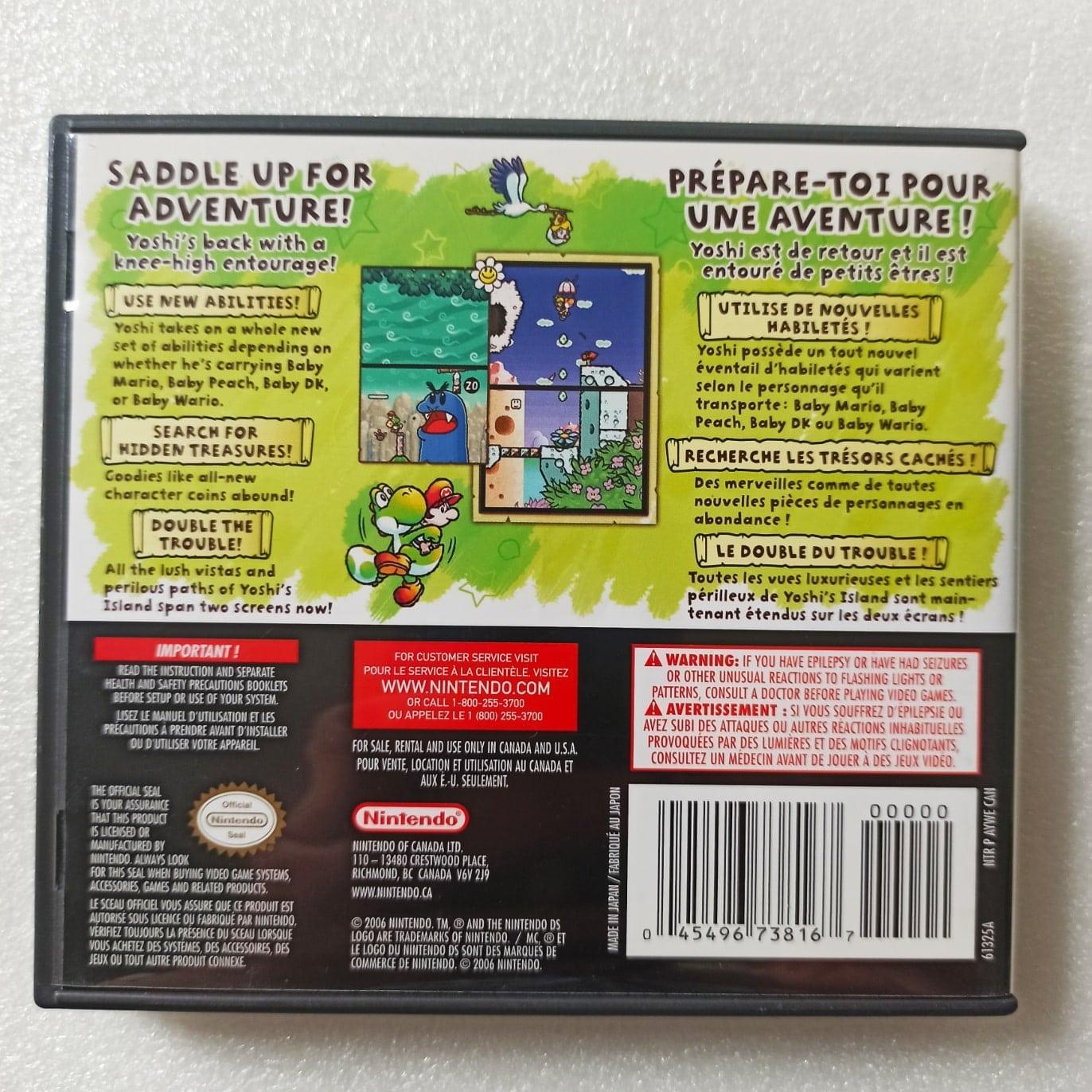 Yoshi's Island - USADO - Nintendo DS