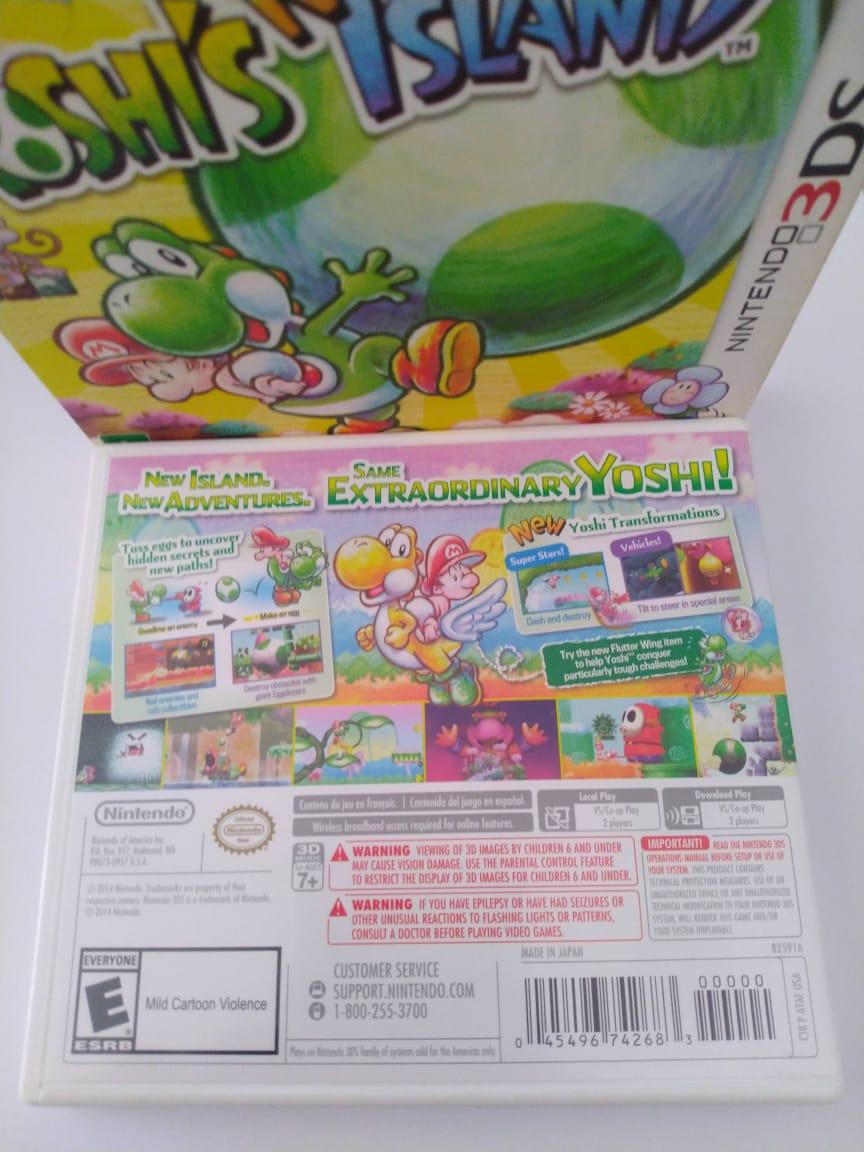 Yoshi's New Island - USADO - Nintendo 3DS