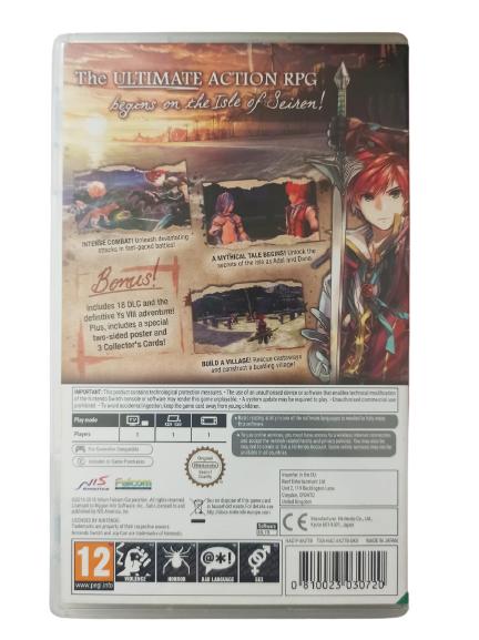 Ys VIII: Lacrimosa of Dana - Nintendo Switch - Usado