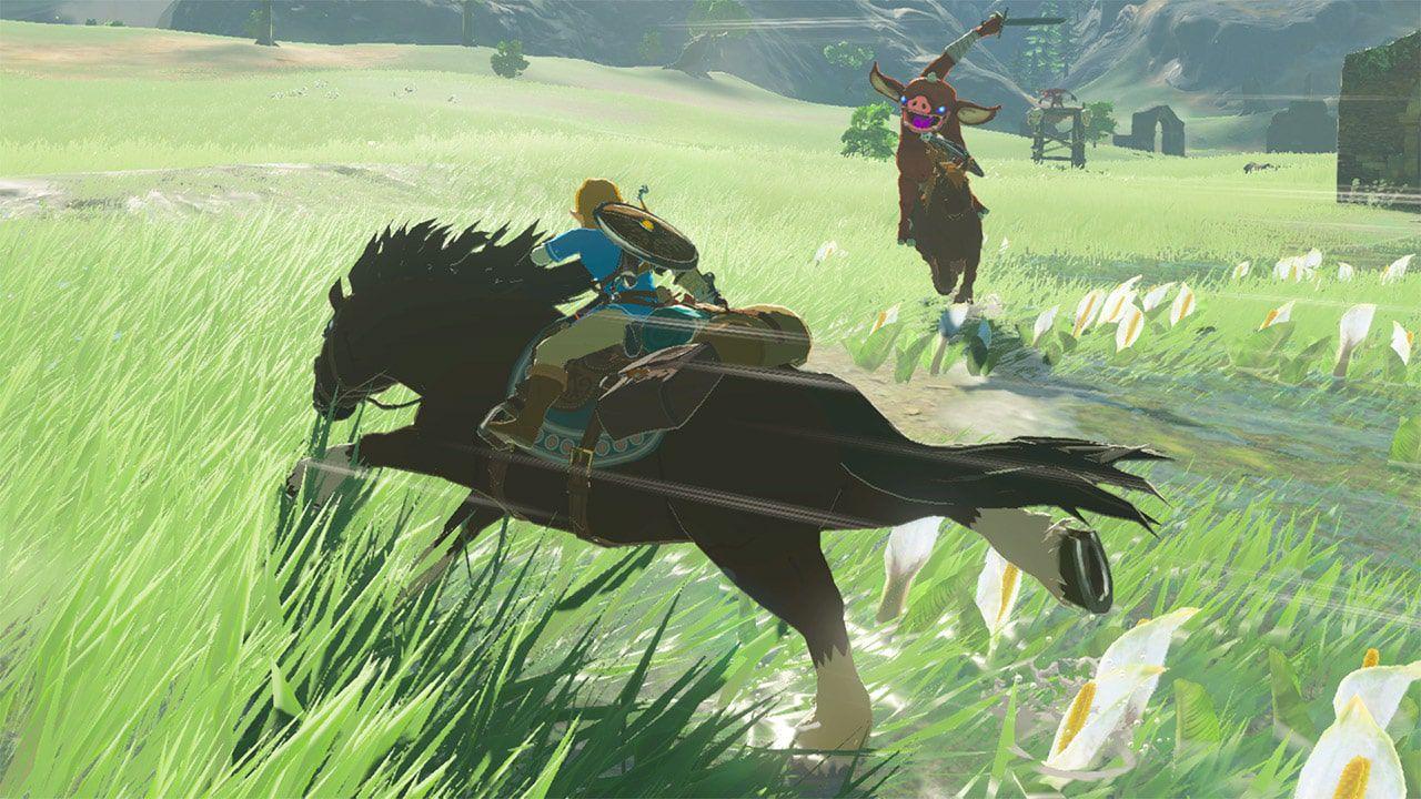Zelda: Breath of the Wild - Nintendo Switch