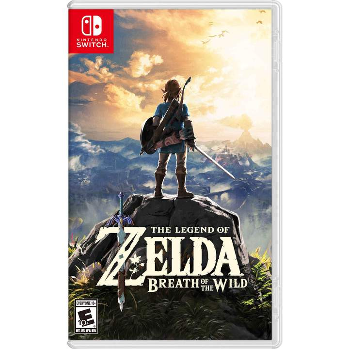 Zelda: Breath of the Wild - Nintendo Switch - ENVIO INTERNACIONAL