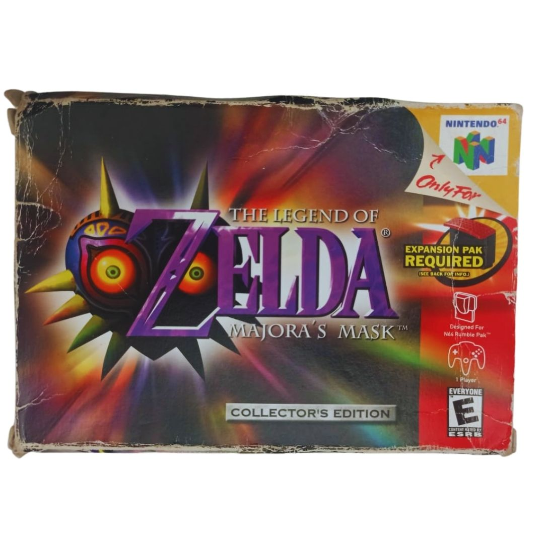 Zelda: Majora's Mask - Nintendo 64 - Usado